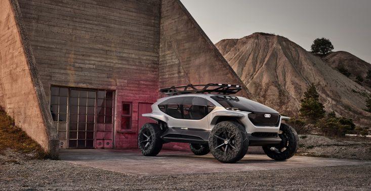 Terenówką w przyszłość – Audi przedstawia model AI:TRAIL quattro<