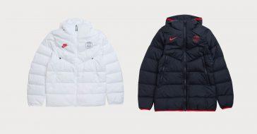 Nike i Paris Saint-Germain stworzyli kolekcję puchowych kurtek