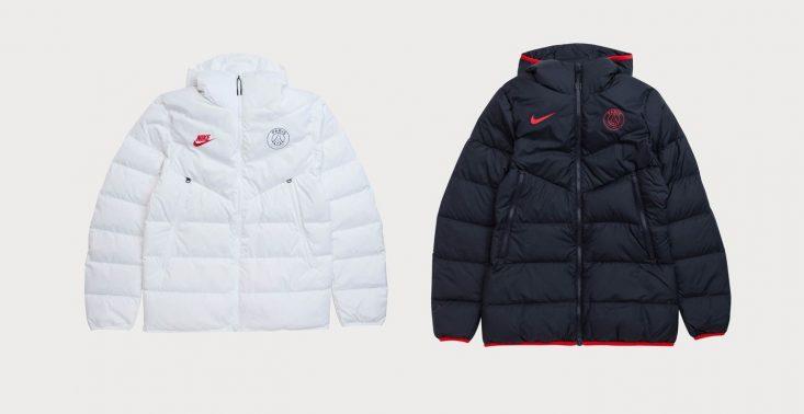 Nike i Paris Saint-Germain stworzyli kolekcję puchowych kurtek<