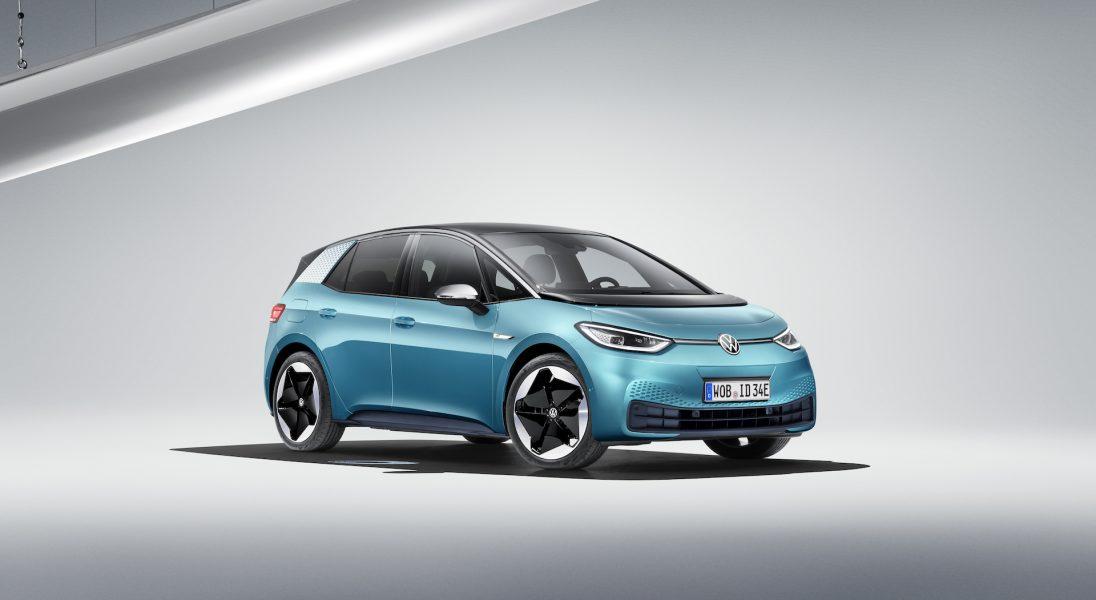 Oto nowy samochód elektryczny Volkswagena – ID.3