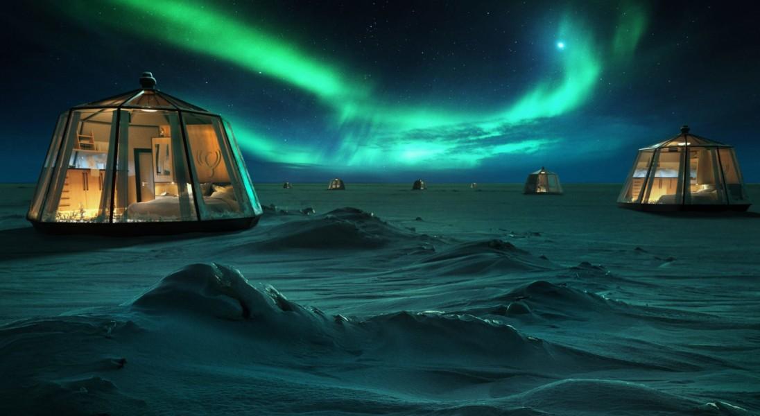 Przeżyj niesamowite chwile w hotelu na biegunie północnym