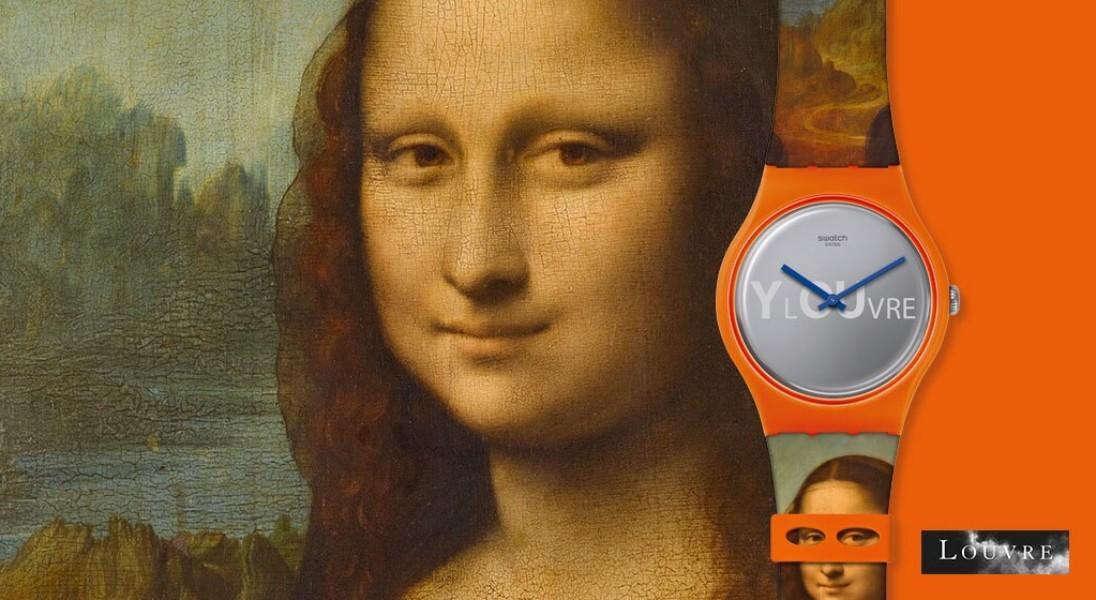 Swatch i Luwr ze wspólną kolekcją zegarków