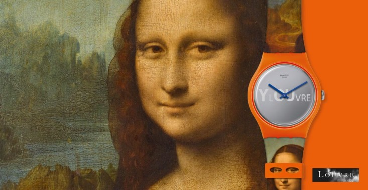 Swatch i Luwr ze wspólną kolekcją zegarków<