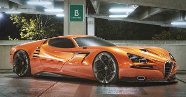 Tak wyglądałaby nowoczesna wersja Alfy Romeo Montreal