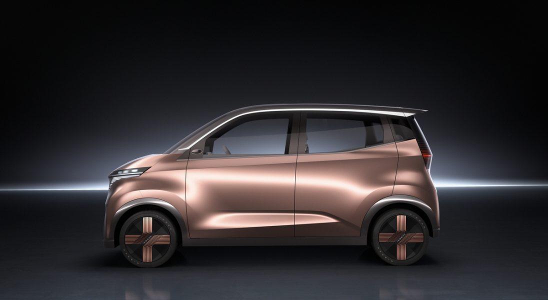 Oto nowy futurystyczny miejski samochód elektryczny Nissana