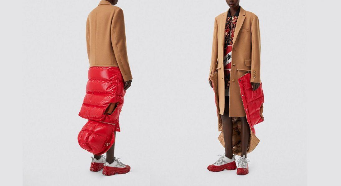 Nie możesz się zdecydować czy puchowa kamizelka czy płaszcz? Burberry stworzyło połączenie tych dwóch rzeczy