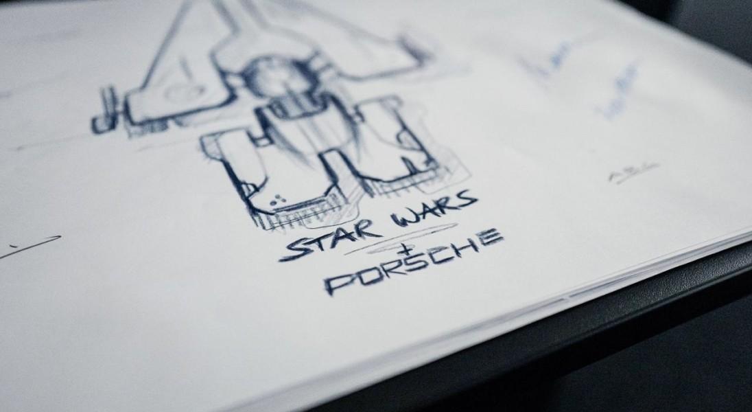 """Porsche zaprojektuje statek kosmiczny do nowych ,,Gwiezdnych Wojen"""""""