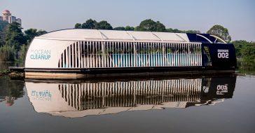 Holenderska organizacja The Ocean Cleanup tworzy barkę, która posprząta plastik ze zbiorników wodnych
