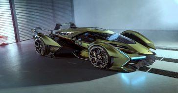 Lamborghini V12 Vision GT, czyli koncept, który pojawi się jedynie w wirtualnym świecie