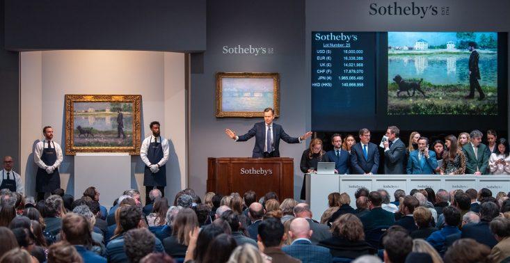 Rekordowa kwota za pracę polskiego artysty – podczas aukcji Sotheby's obraz Łempickiej sprzedano za ponad 13 mln dolarów<