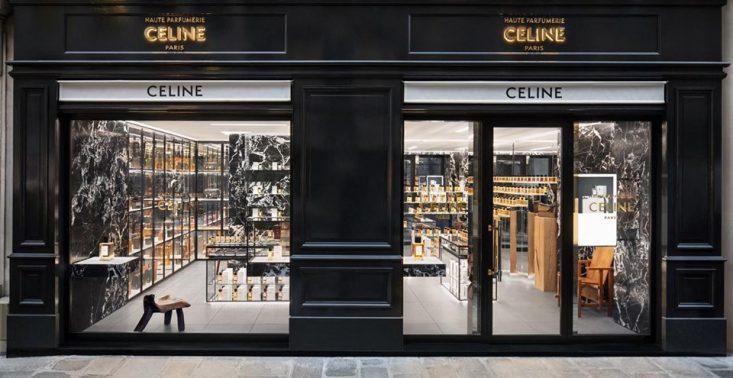 Dom mody Celine otworzył swój pierwszy butik i perfumerię w jednym<