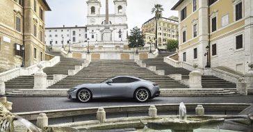 Ferrari zaprezentowało swoje nowe auto – model Roma