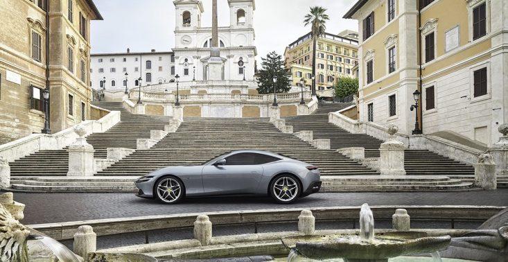 Ferrari zaprezentowało swoje nowe auto – model Roma<