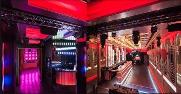 The Pastrami Club – ten hiszpański lokal z pozoru wygląda, jak tani fast food, ale tak naprawdę to superstylowy i ekskluzywny klub nocny