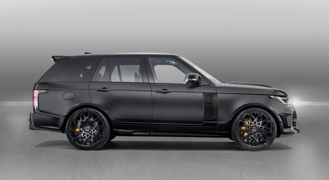 Tak wygląda nowy Range Rover stuningowany przez firmę Overfinch