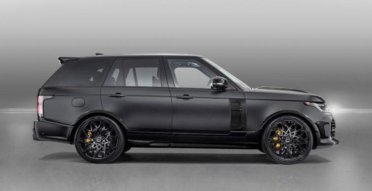 Tak wygląda nowy Range Rover stuningowany przez firmę Overfinch<