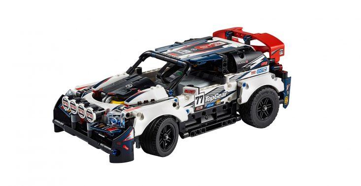 LEGO prezentuje niezwykły samochód wyścigowy Top Gear wykonany z klocków<
