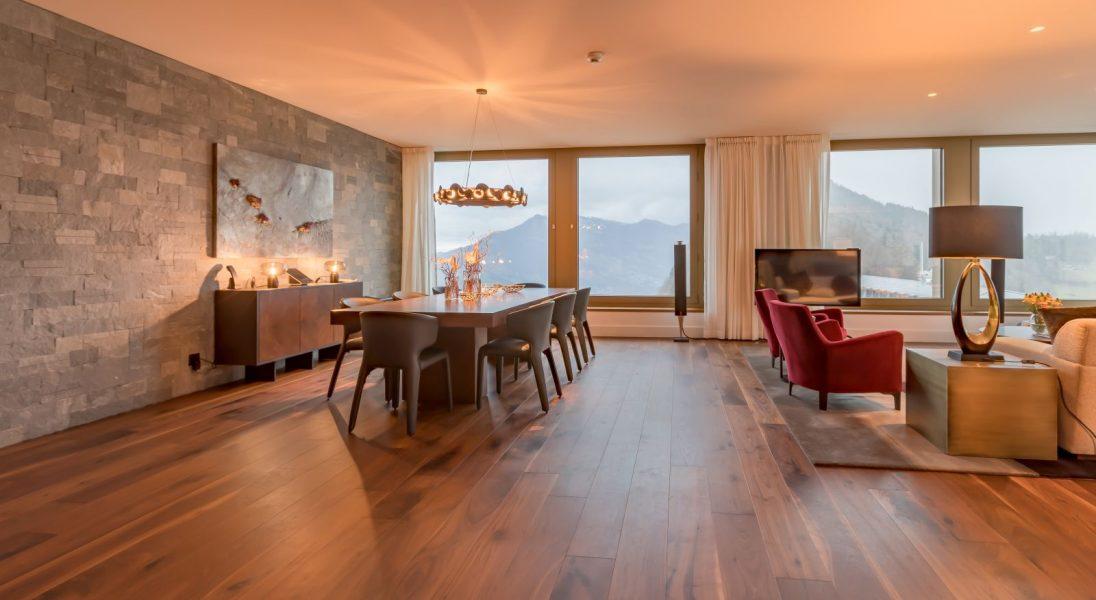 Ten hotel to ucieleśnienie szwajcarskiego stylu – oto zabytkowy Bürgenstock Hotel & Alpine Spa z nowoczesnym wnętrzem