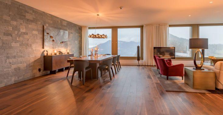 Ten hotel to ucieleśnienie szwajcarskiego stylu – oto zabytkowy Bürgenstock Hotel & Alpine Spa z nowoczesnym wnętrzem<