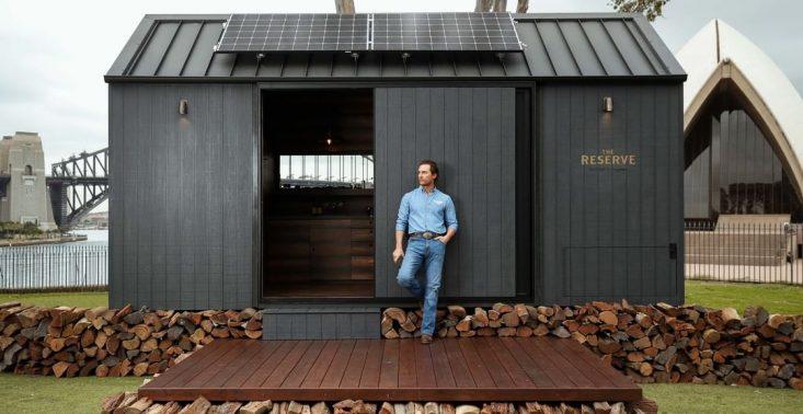 Matthew McConaughey zaprojektował mały, ekologiczny dom na kołach<