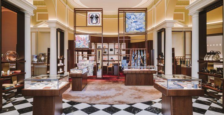 Tak wygląda wnętrze warszawskiego butiku domu mody Hermès<
