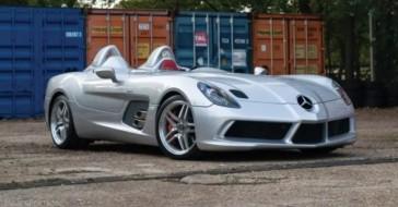 Mercedes-Benz SLR McLaren Stirling Moss wystawiony na sprzedaż – to jedna z zaledwie 75 sztuk