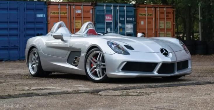 Mercedes-Benz SLR McLaren Stirling Moss wystawiony na sprzedaż – to jedna z zaledwie 75 sztuk<