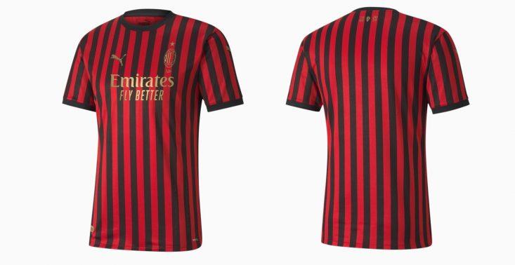 Puma wypuściła limitowaną koszulkę AC Milan z okazji 120. rocznicy klubu<