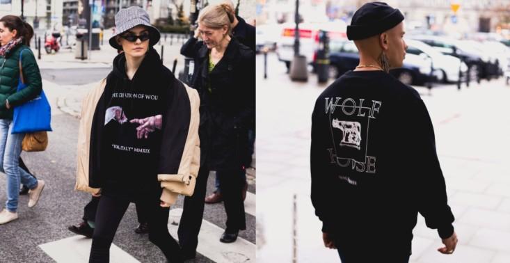 Marka Wolf House wypuściła streetwearową kolekcję, którą wspiera ochronę polskich wilków<