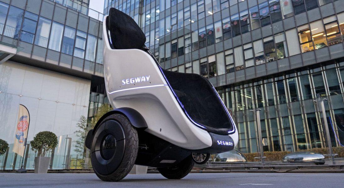 Marka Segway-Ninebot zaprezentowała futurystyczny mini transporter