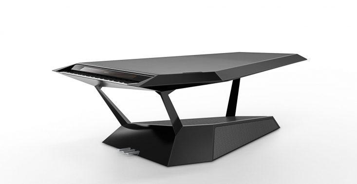 Oto futurystyczny fortepian na miarę XXI wieku – Roland GPX-F1 Facet<