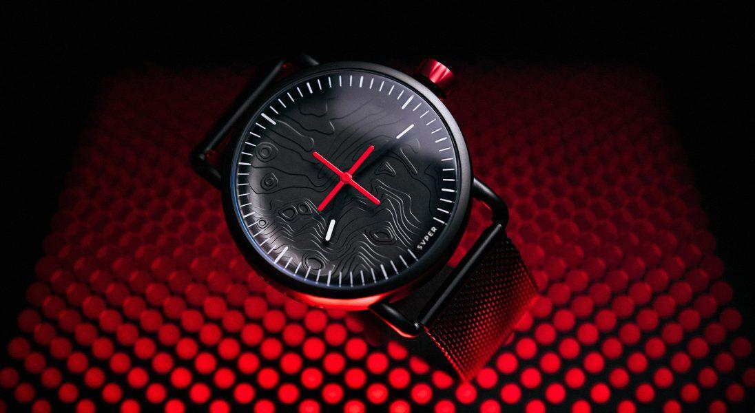 Inspirowany lądowaniem na księżycu zegarek, który został zaprojektowany przez Polaka