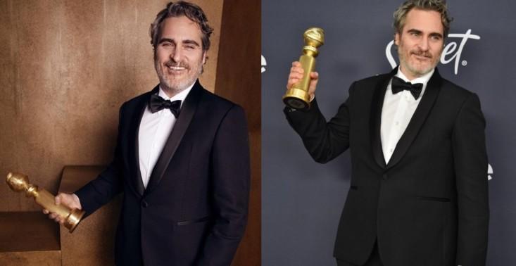 Joaquin Phoenix zadeklarował, że będzie nosić jeden garnitur na wszystkie tegoroczne gale<