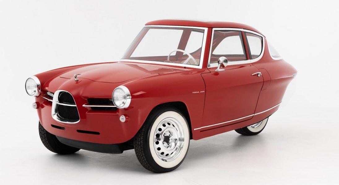 Już wkrótce na drogach pojawi się trójkołowe auto elektryczne w retro stylu – kosztuje 31 tys. euro