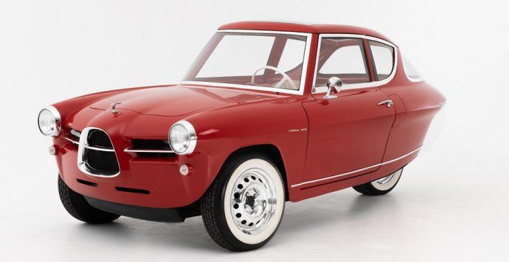 Już wkrótce na drogach pojawi się trójkołowe auto elektryczne w retro stylu – kosztuje 31 tys. euro<