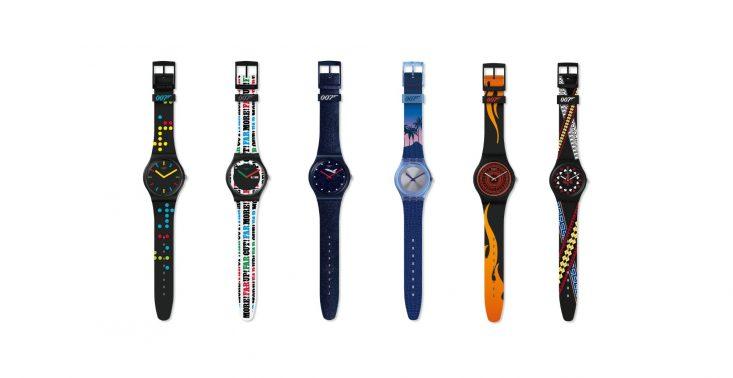 Swatch x 007 – powstała kolekcja zegarków inspirowanych filmami o Jamesie Bondzie<