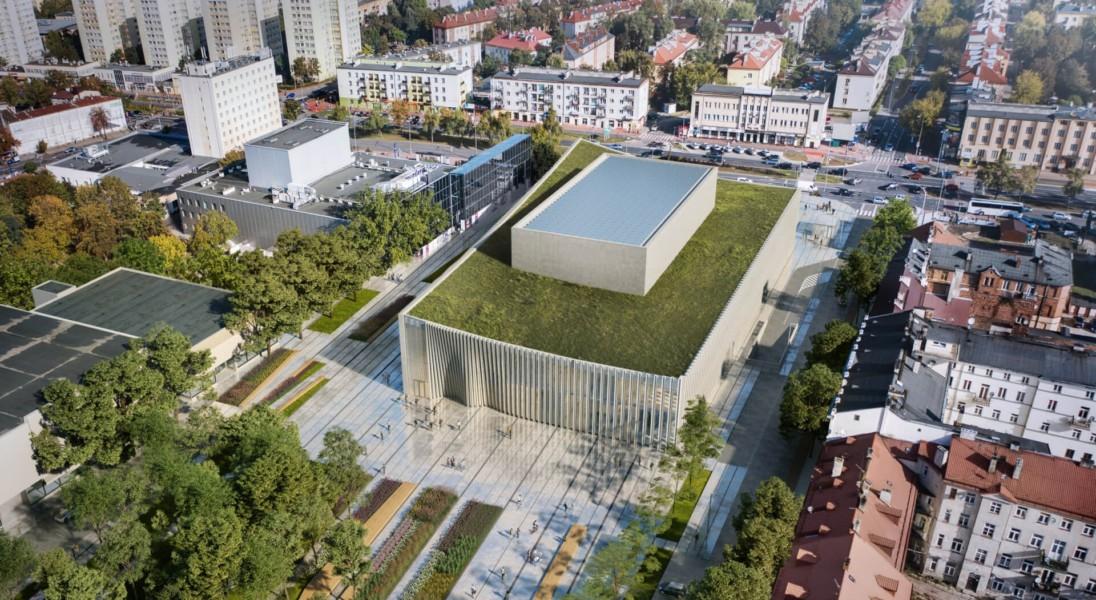 W Płocku pojawi się nowa sala koncertowa z roślinnym dachem
