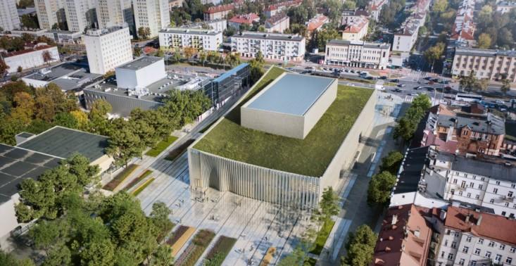 W Płocku pojawi się nowa sala koncertowa z roślinnym dachem<