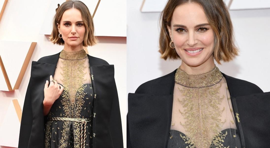 Natalie Portman w sukience-manifeście na Oscarach – zwróciła uwagę na reżyserki, które zostały pominięte przez Akademię Filmową