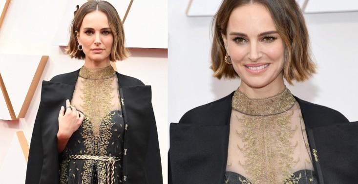 Natalie Portman w sukience-manifeście na Oscarach – zwróciła uwagę na reżyserki, które zostały pominięte przez Akademię Filmową<