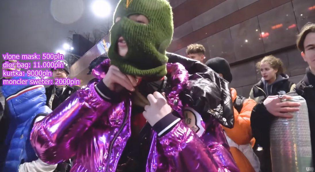 Youtuber Czuux sprawdził, ile kosztują outfity warszawskich nastolatków – ceny porażają
