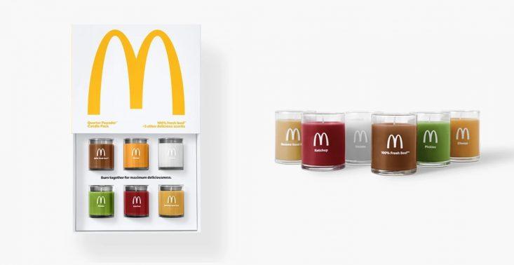 McDonald's stworzył świeczki o zapachu McRoyala<