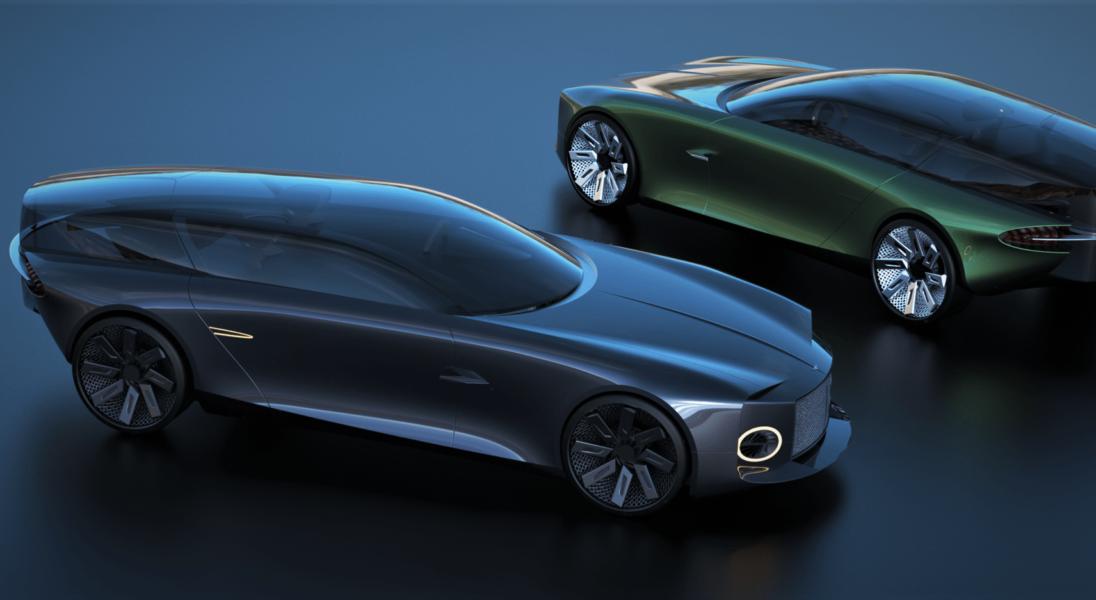 Bentley Centanne, czyli futurystyczna wizja elektryka