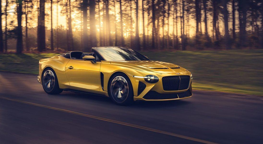 Bentley zaprezentował swoje nowe, luksusowe auto Bacalar Mulliner – wyprodukowanych zostanie zaledwie 12 sztuk