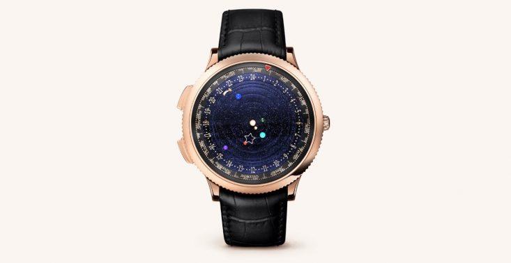 The Midnight Planetarium Watch – zegarek, który nie tylko pokazuje czas, ale również położenie planet<