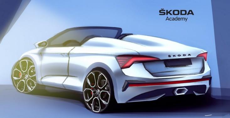Studenci zaprezentowali nietypowy projekt zmodyfikowanej Škody Scala – prototyp auta ma powstać jeszcze w tym roku<