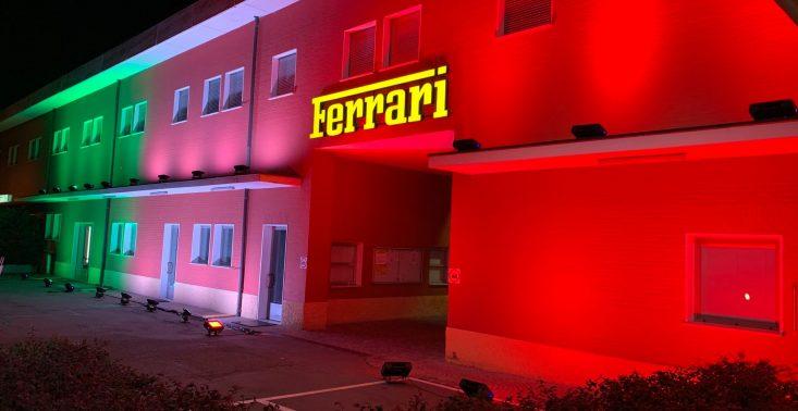 Ferrari przekazuje 10 mln euro na walkę z koronawirusem i produkuje respiratory<