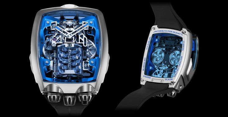 Ten niezwykły zegarek Jacob & Co. inspirowany jest autem Bugatti Chiron – kosztuje ponad milion złotych<