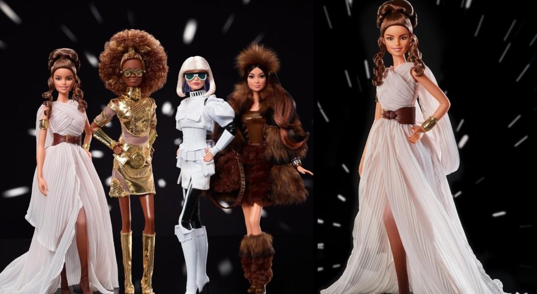 """Mattel stworzył kolekcję lalek Barbie inspirowaną ,,Gwiezdnymi wojnami"""""""