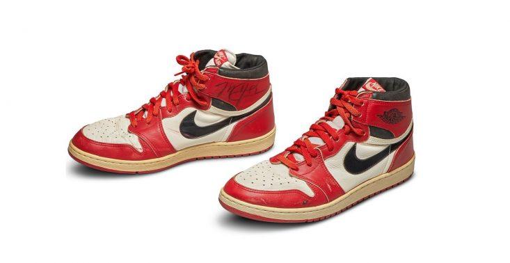 Rekordowa kwota za pierwsze buty Nike Air dla Michaela Jordana – zostały sprzedane za pół miliona dolarów<